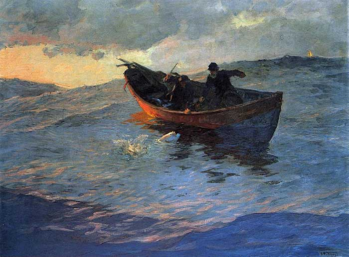 Willard Metcalf, On The Suffolk Coast, 1885