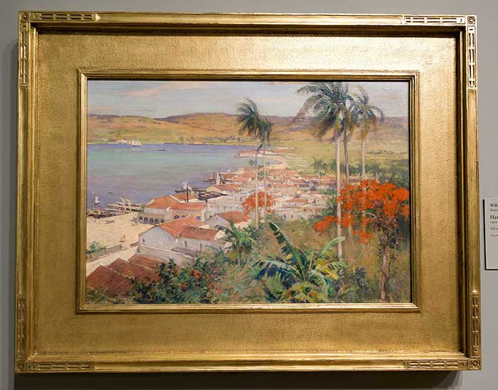 Willard Metcalf, Havana Harbor