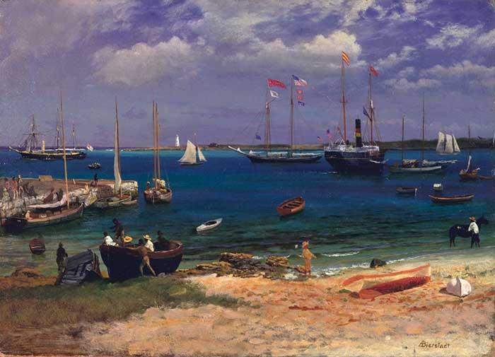 Albert Bierstadt, Nassau Harbor, 1877