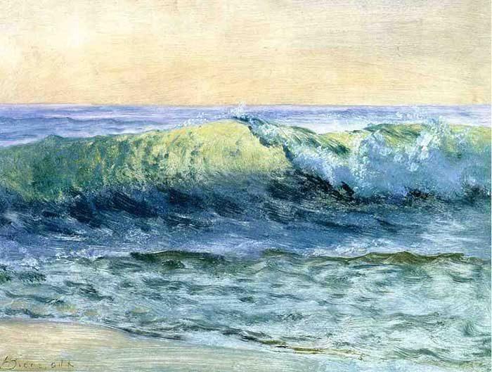Albert Bierstadt, The Wave, 1880