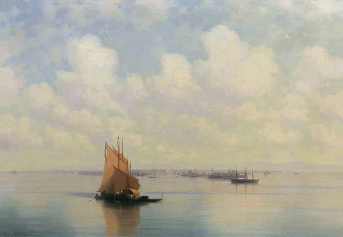 Ivan Aivazovsky, Seascape