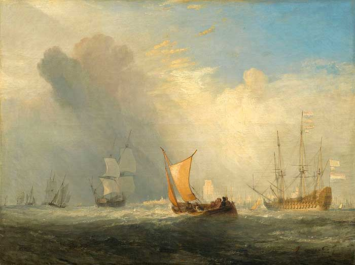 Joseph Mallord William Turner, Rotterdam Ferry-Boat, 1833