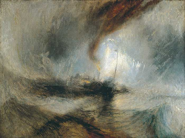 Joseph Mallord William Turner, Snow Storm