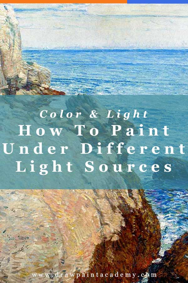 Color And Light - How To Paint Under Different Light Sources. In this second part of the Color And Light series, I will discuss how you can paint under different light sources. This will follow on from my post about color temperature.