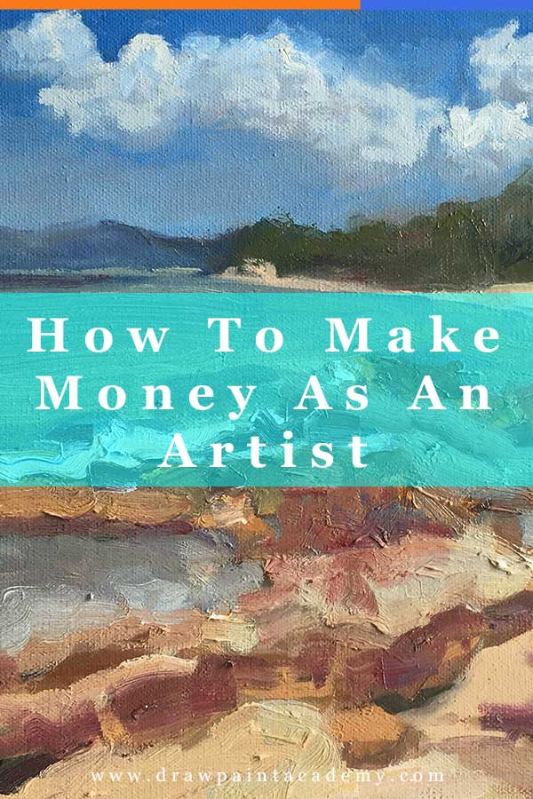 How To Make Money As An Artist | The idea of the starving artist is nothing more than a myth. We live in a period when you can monetize literally anything. I don't really like talking about money but it is an important topic. Without money, it can be difficult to practice your craft. To help you out, here are some different ways you can make money as an artist.