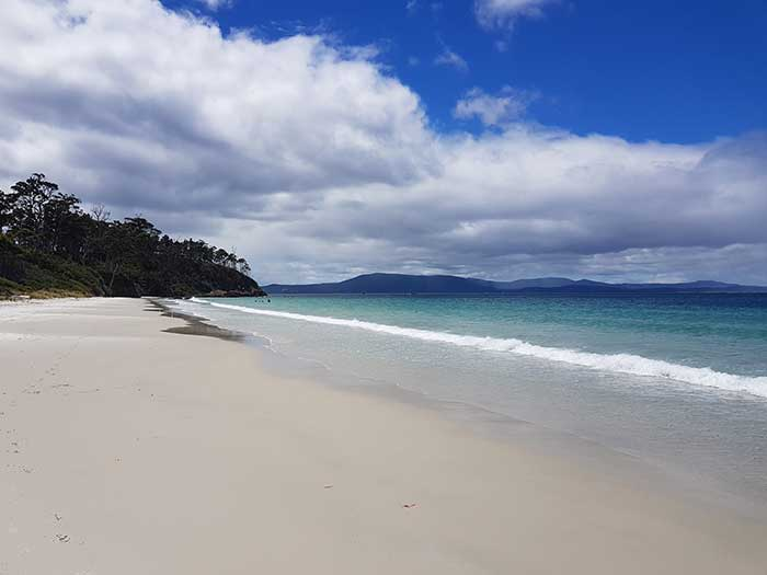1. Reference Photo. Tasmania Seascape Painting Tutorial.