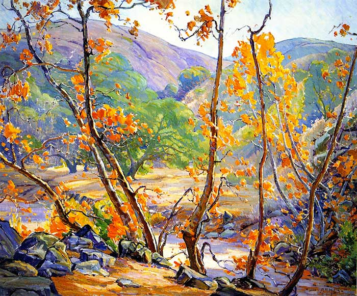 Anna Althea Hills, Autumn Fallbrook