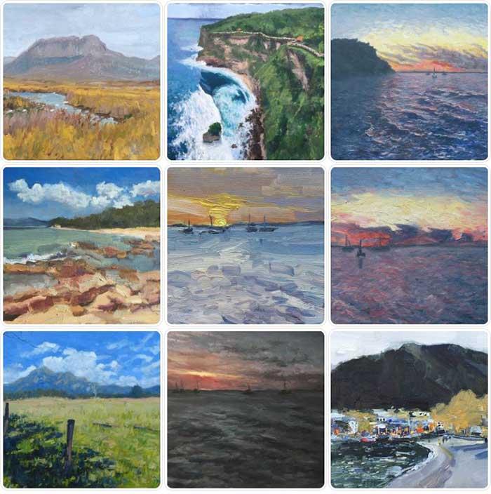 Dan Scott Paintings