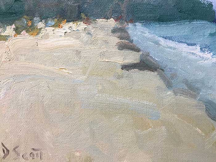 Seascape Painting Tutorial - Close-Up 2