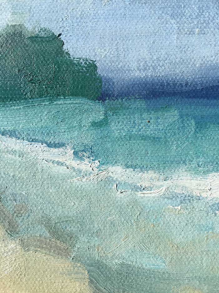 Seascape Painting Tutorial - Close-Up 3