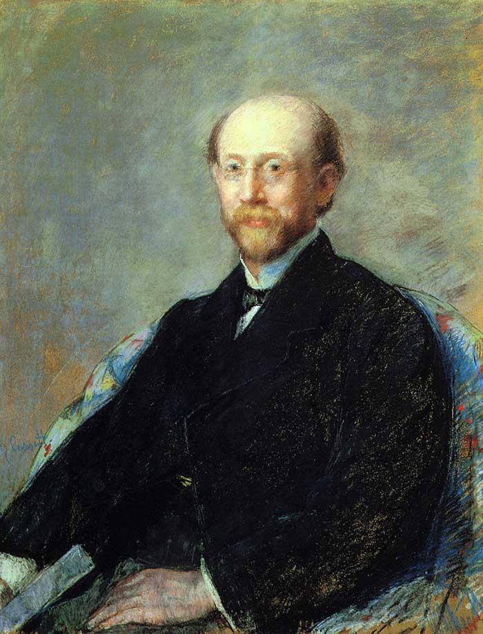 Mary Cassatt, Moise Dreyfus, 1879