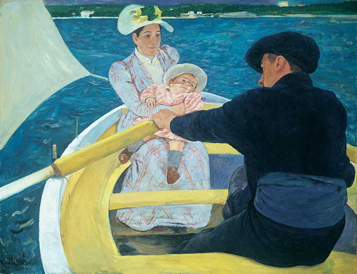 Mary Cassatt, The Boating Party, 1893-94