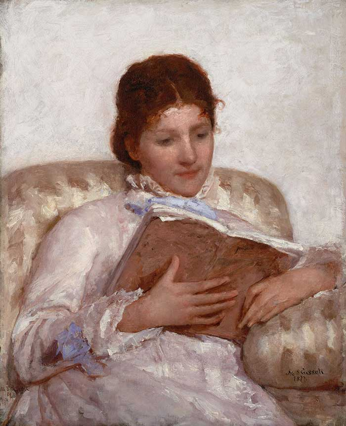 Mary Cassatt, The Reader, 1877
