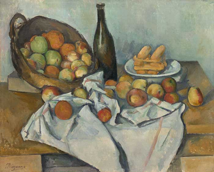 Paul Cézanne, The Basket Of Apples, 1890-1894
