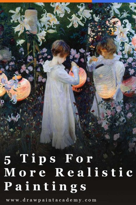 5 Tips For More Realistic Paintings