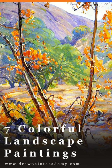 7 Colorful Landscape Paintings To Spark Your Inspiration