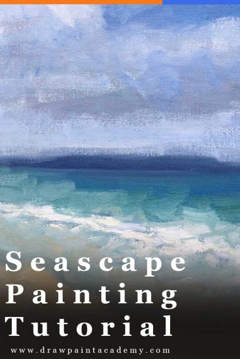 Seascape Painting Tutorial - Tasmania Seascape