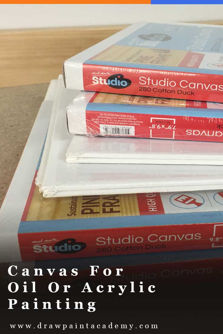 Canvas For Oil Or Acrylic Painting   Art Supplies   Canvas Painting   Oil Painting For Beginners