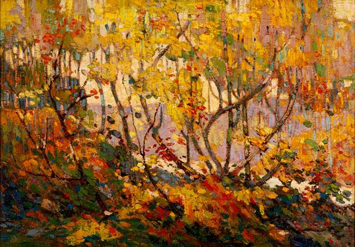 Tom Thomson, Opulent October, Winter, 1915