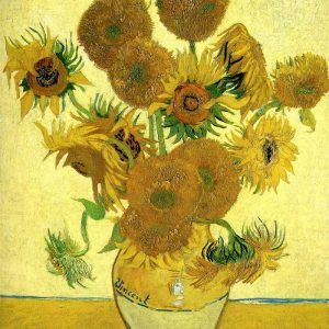 Vincent van Gogh, Still Life - Vase With Fifteen Sunflowers 2, 1888