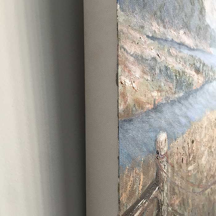 Tape The Edges - What To Do Before You Sell Your Painting