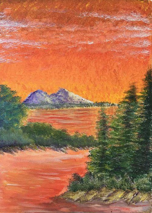 Dan Scott, Early Paintings 6