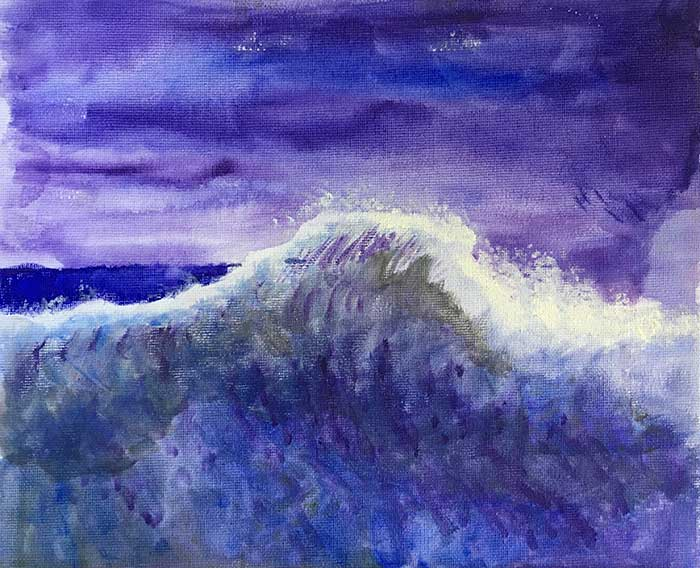 Dan Scott, Early Painting - Impressionist Wave