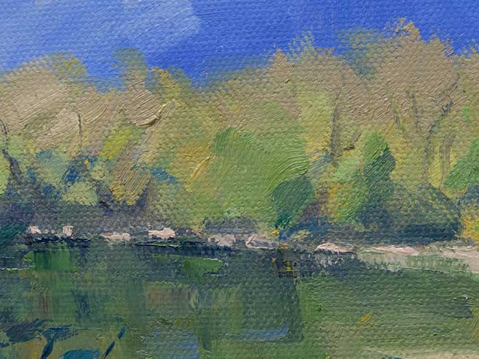 Painting Tutorial - New Zealand River - Close Up
