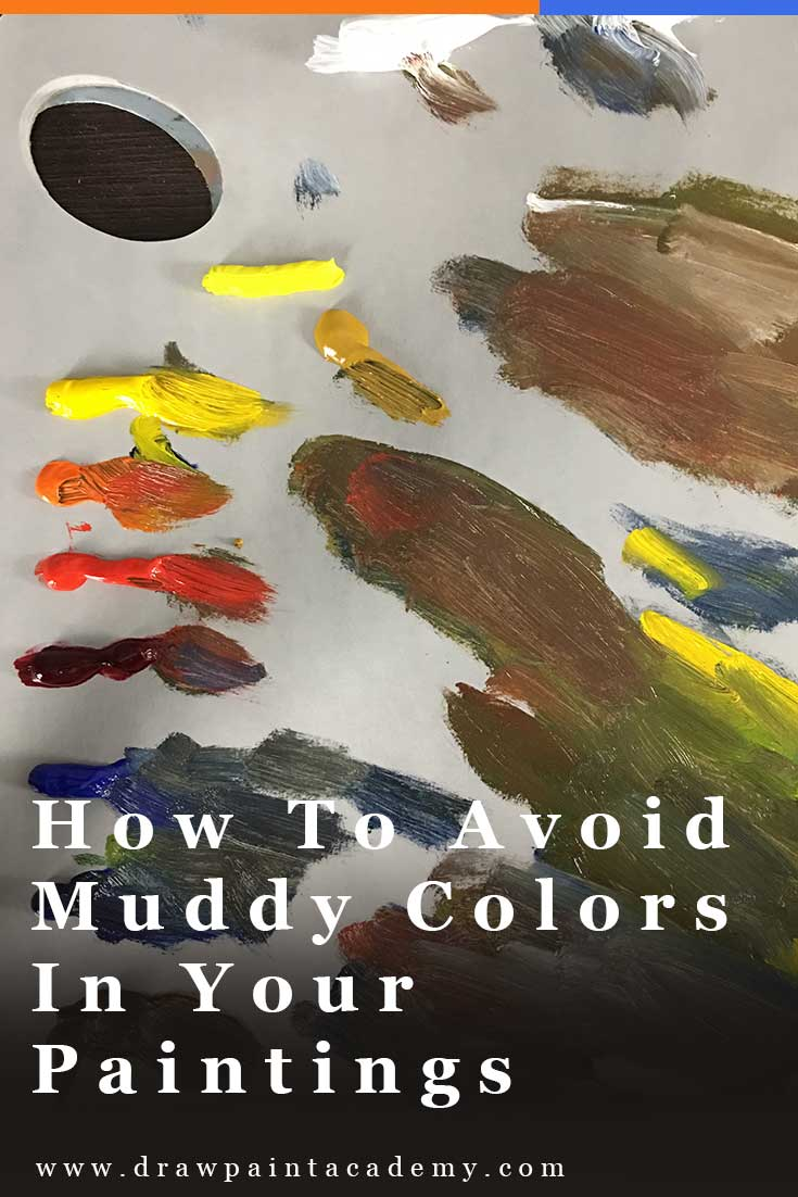 How To Avoid Muddy Colors In Your Painting | Oil Painting Tips | Color Theory | Color Mixing For Beginners