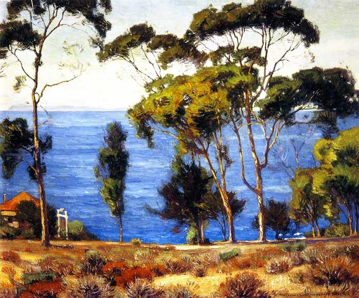William Wendt, Eucalyptus, Latuna, 1919