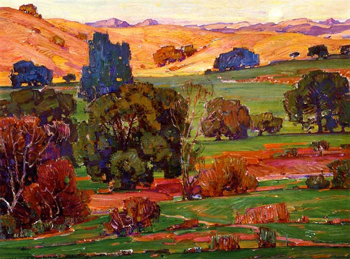 William Wendt, Evening Calm, 1928