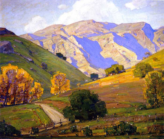 William Wendt, Gentle Evening Bendeth, 1938