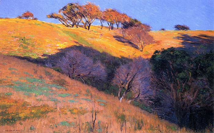 William Wendt, Head of Amarillo Canyon, 1897