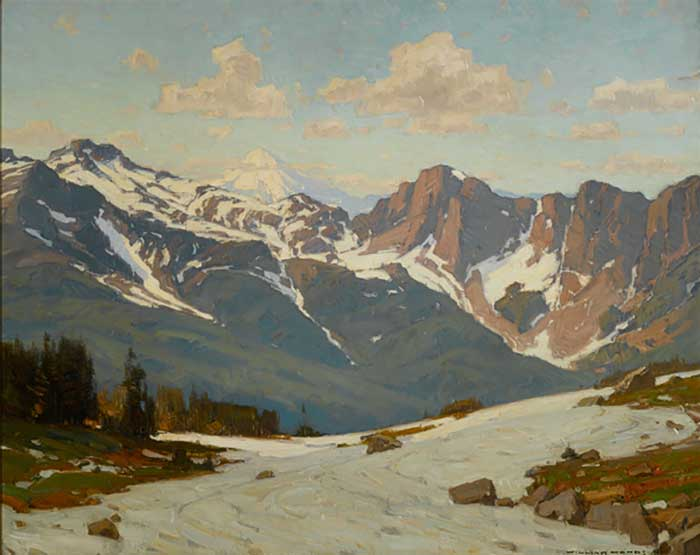 William Wendt, Higher Altitudes, 1916