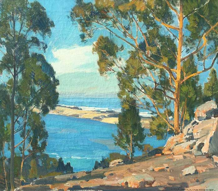 William Wendt, The Bay, The Bar, The Sea, 1925