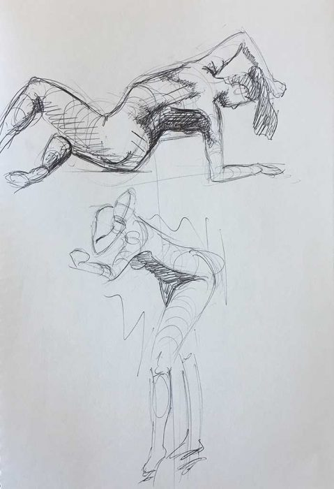Simple Drawing Exercises - Gesture Drawings