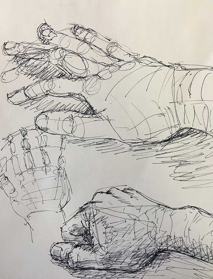 Off Hand Drawing Exercise