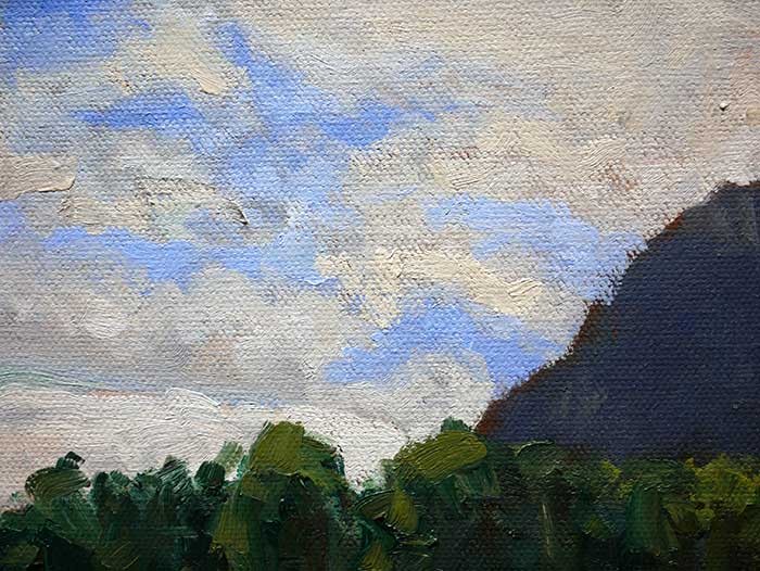 Landscape Painting Tutorial - Close Up Sky