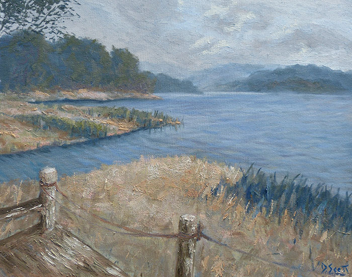 Secrets On The Lake, Montville, 16x20 Inches, 2016