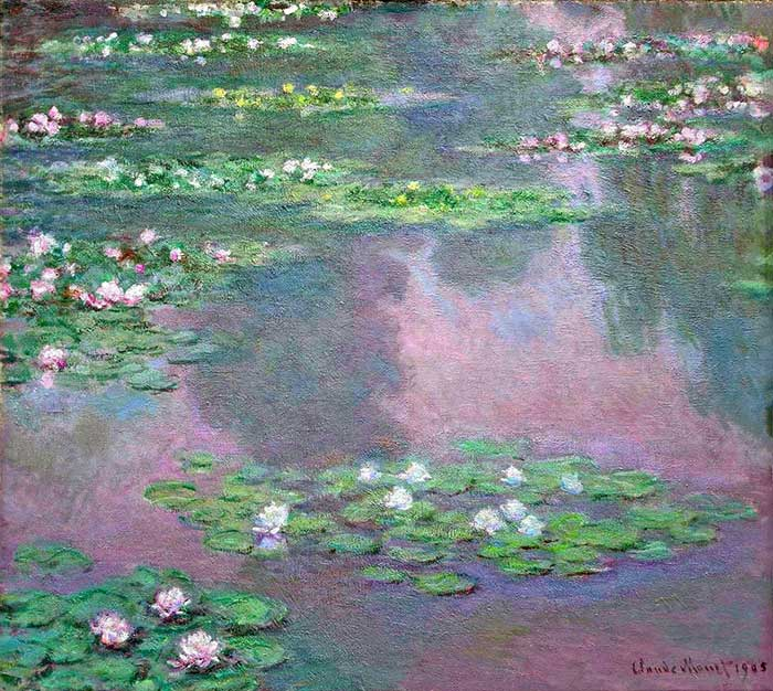 Claude Monet, Water Lilies, 1905