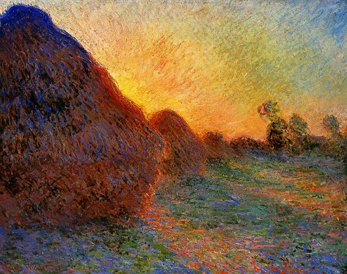 Claude Monet, Haystacks, 1891