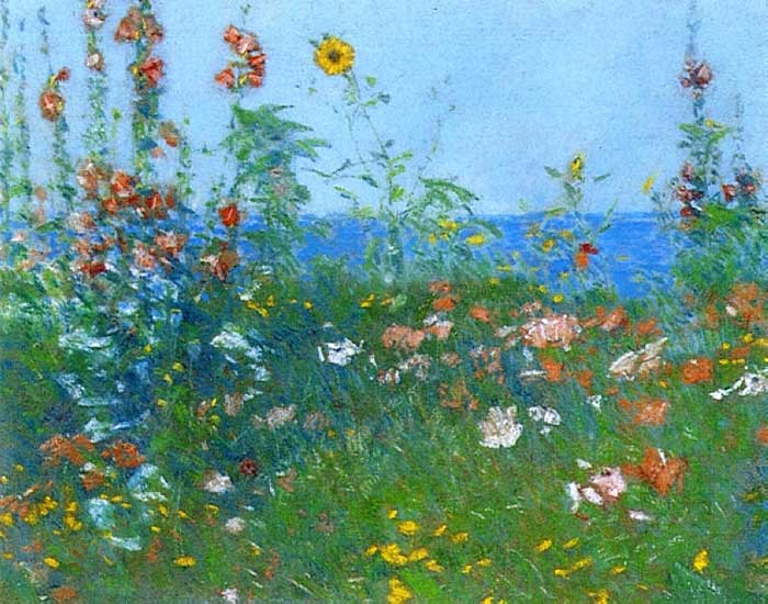 Childe Hassam, Poppies, Isles Of Shoals, 1891