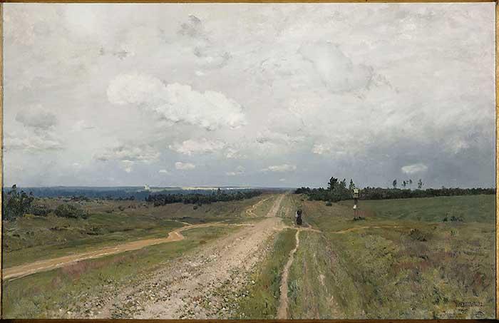 Isaac Levitan, The Vladimirka, 1892