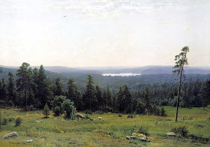 Ivan Shishkin, Forest Distance, 1884
