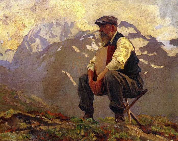 John Singer Sargent, Reconnoitering, 1911