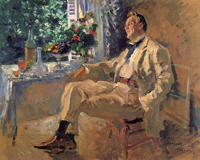 Korovin Konstantin, Portrait Of Chaliapin, 1911