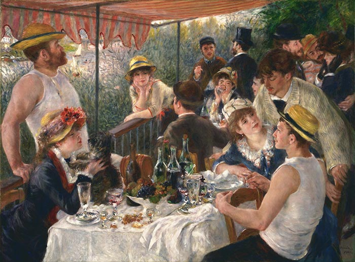 Pierre-Auguste Renoir, Luncheon of the Boating Party, 1880-1881