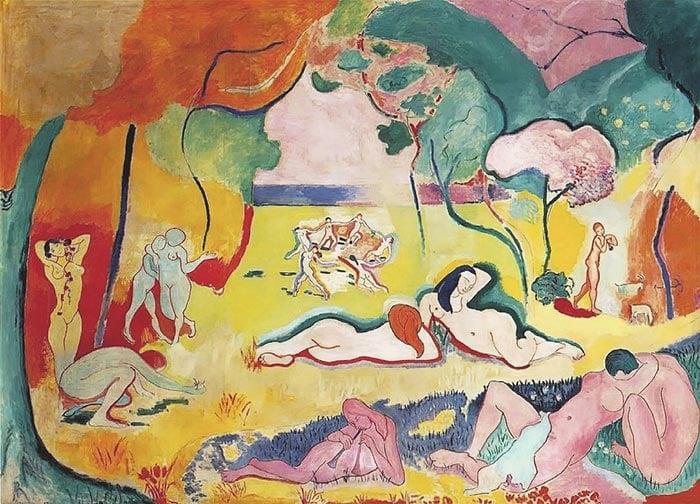 Henri Matisse, Le Bonheur de Vivre, 1905-06