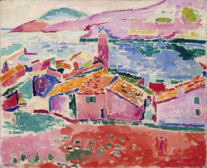 Henri Matisse, Les toits de Collioure, 1905