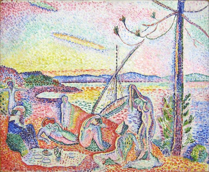 Henri Matisse, Luxe, Calme et Volupte, 1904